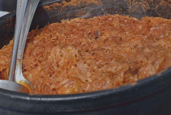 slanina afumata cu varza - rat stefania - bun de la buni